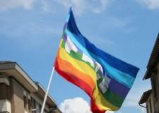Esposta la bandiera della pace dal pennone della Provincia di Rimini.