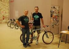 Cervia. 'La rigida festival' divertirsi con la bici.