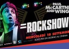 Savignano sul Rubicone. Paul McCartney & Wings – Rockshow all'UCI Cinemas.