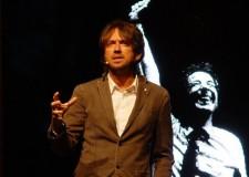 Faenza. Sul palco Andrea Scanzi con 'Gaber se fosse Gaber'.