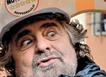 Beppe Grillo annuncia il terzo Vaffa-Day a Genova.