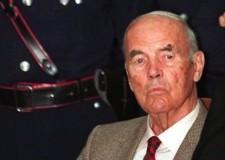 Italia. E' morto a Roma Erich Priebke, l'ex capitano Ss. Aveva 100 anni.