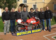 Misano Adriatico. Pronto lo squadrone Moto d'Epoca del Moto Club Misano.