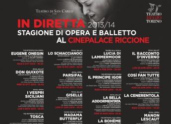 Riccione. La grande Opera approda al cinema.