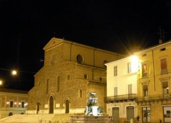 Faenza. Apertura della porta santa nella Cattedrale di Faenza al centro della conferenza di Pietro Lenzini.