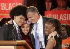 Usa: Bill De Blasio nuovo sindaco di New York.