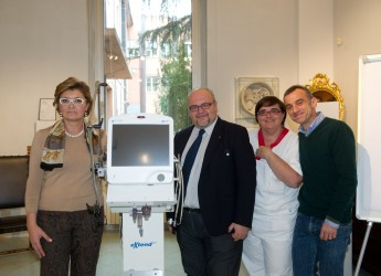 Donata una nuova attrezzatura all'ospedale di Faenza per i malati di SLA.