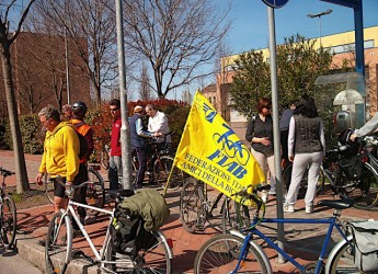 Forlì. L'associazione Fiab Amici della bicicletta festeggiano i 10 anni.