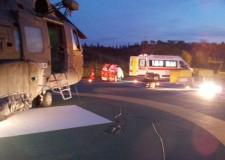 Cervia. Bimbo di 11 anni ustionato trasportato a Cesena dal 15° Stormo.