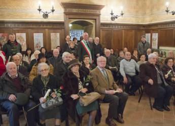 Lugo. Il Comune celebra le coppie 'longeve'.