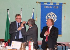 Lugo. Venerino Poletti riceve il Paul Harris Fellow.