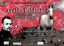 Eraldo Baldini a Forlì presenta il suo ultimo romanzo
