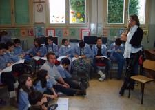 Barbiano. Ambasciatore Onu in visita alle scuole elementari.