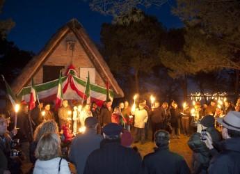 Ravenna. Il 31 dicembre si svolgerà la tradizionale 'fiaccolata' al capanno Garibaldi.