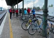 Emilia Romagna. Nuovo Servizio ferroviario regionale, con combinazione tra treno e bicicletta.