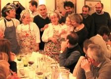 San Piero in Bagno. Grande successo per la presentazione del volume 'La grande cucina delle osterie d'Italia'