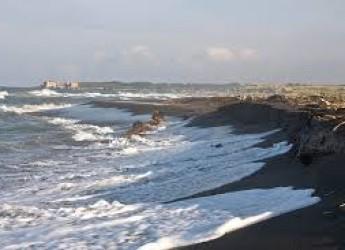 Riccione. Erosione. Al via oggi i lavori per la barriere di dune di sabbia a salvaguardia dell'arenile dalle mareggiate e dal fenomeno dell'erosione.