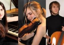 Forlì. Al teatro Fabbri serata di musica classica con il talentuoso trio Armellini-Marzadori.
