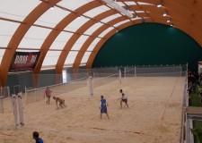 San Clemente. Inaugurati sabato i nuovi campi da beach tennis e beach volley
