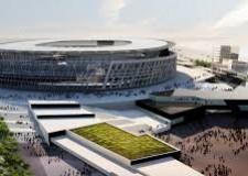 Notizie ( non solo) di calcio. I nuovi stadi, come quello della Roma, per (ri)salire. Gioia e spettacolo.