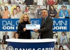 Rimini. Da Banca Carim, 1.000 euro all'Istituto oncologico romagnolo per  le sue attività sul territorio.