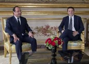 Cronaca ( non solo) politica. L'asse Italia-Francia per 'ammorbidire' la miope ' cruccheria' tedesca.