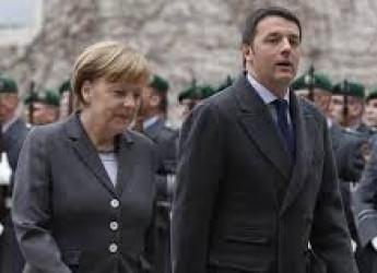 Cronaca ( non solo) politica. Merkel 'folgorata' da Renzi. Ma l'Italia sarà libera di muoversi o no?
