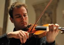 Forlì. Stagione musicale 2014: il violinista Milenkovick accompagnato dall'orchestra 'Bruno Maderna'.