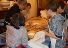 Villanova di Bagnacavallo. Grande successo per i 'capricci in cucina' all'ecomuseo.