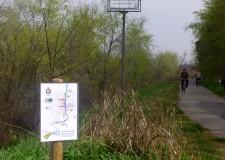 Faenza. Grazie ai volontari, sistemata la segnaletica del percorso fluviale.