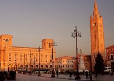 Forlì. Il centro storico della città si tinge con  'il colore dei sogni'.