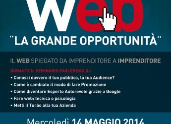 Cesena. A scuola di Web, seminario dedicato a tutti gli imprenditori che vogliono essere protagonisti del cambiamento.