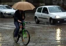 Emilia Romagna. Maltempo a Rimini, in 45 minuti, circa 55 mm di pioggia, tra le 15.35 e le 15.40.