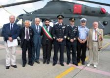 Lugo. Aeroporto di Pisignano di Cervia, il sindaco Ranalli al cambio di comando del 15° stormo.