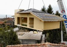 Fiera di Rimini. La casa sull'albero, l' anticipo delle sopraelevazioni in legno sui nostri edifici.