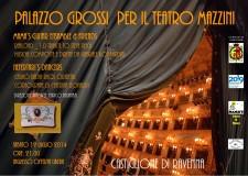 Castiglione.Spettacolo al Palazzo Grossi sabato 19 luglio.