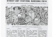 A Ravenna il primo festival dedicato alla Street Art, nel segno di Dante. Da oggi a domenica 7 settembre Subsidenze in città con l'associazione Indastria.