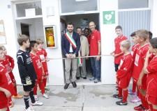 Bagnacavallo: inaugurato il defibrillatore al campo Secondo Ricci.
