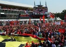 Notizie ( non solo) di calcio. La 'rossa' umiliata a Monza. Alonso stop forzato, Kimi a spasso per il Parco.