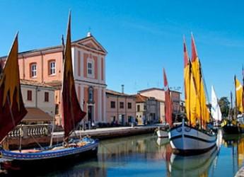Cesenatico. Anche a Natale stessa spiaggia, stesso mare. Tanti eventi e l'ospitalità della Riviera Romagnala.