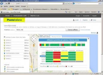 Servizi postali. Rimini e Provincia: il semaforo on-line per sapere quando recarsi all'ufficio postale.