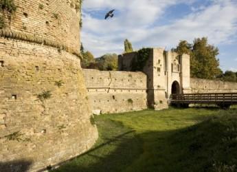 Ravenna. La Rocca Brancaleone raccontata con nuovi pannelli illustrativi.