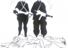 Massa Lombarda. La città ricorda le vittime dell'eccidio Baffè-Foletti. Venerdì 17 fiaccolata per la pace.