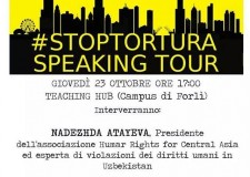 Forlì. Amnesty International denuncia: ' In Uzbekistan la tortura è routine. Ora basta !'.