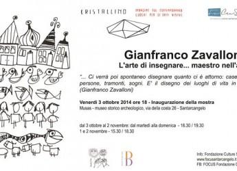 Santarcangelo di Romagna: Maestri d'Arte si conclude con la mostra dedicata al maestro, artista, burattinaio Gianfranco Zavalloni.