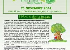 Ravenna. A Punta Marina Terme venerdì 21 novembre è la giornata nazionale dell'albero.
