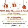 Lugo: con 'Dona' tornano i mercatini di Natale. Sei appuntamenti da sabato 29 novembre.