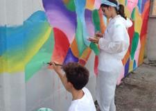 Lugo. Sarà inaugurato nel pomeriggio di domenica 23 novembre il grande murale realizzato dagli alunni della scuola San Giuseppe.