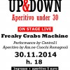 Riccione: domenica pomeriggio aperitivo under 30 con musica live dei Freaky Crabs Machine alla Casa di via Limentani 15.