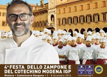 Oltre 200 giovani cuochi delle Alberghiere alla Festa dello zampone e cotechino di Modena.